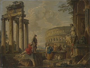 The Coliseum amongst RomanRuin