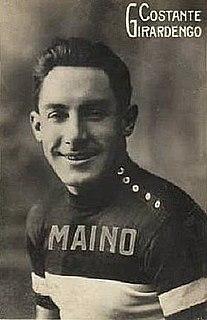 Costante Girardengo Italian cyclist