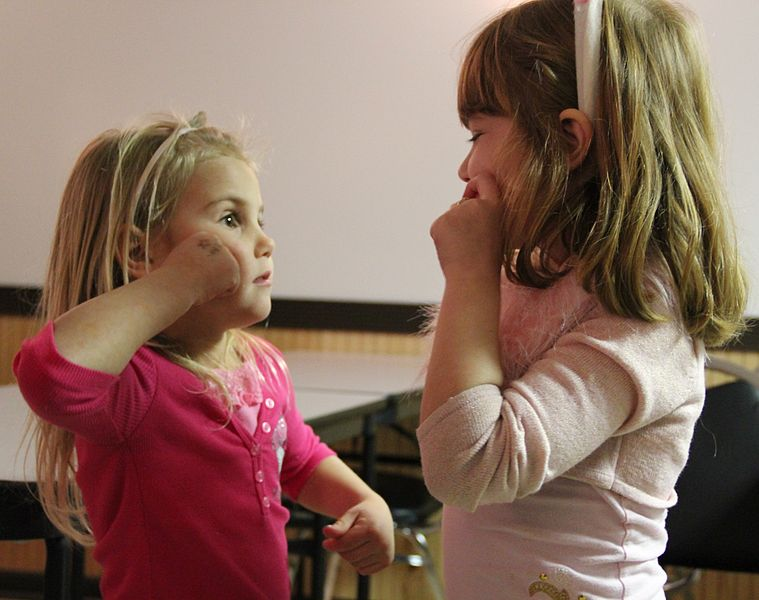 File:Girls learning sign language.jpg