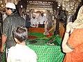 Giving offerings to Salim Chishti's Tomb.JPG