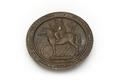 Gjuten medalj av brons med Mahmud II - Skoklosters slott - 92234.tif