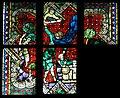 Glasfenster aus Minoritenkirche Regensburg Opfer Abrahams von Heinrich Menger.jpg