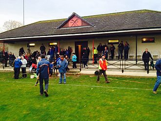 Glenurquhart Shinty Club - Image: Glen Urquhart Shinty Clubhouse