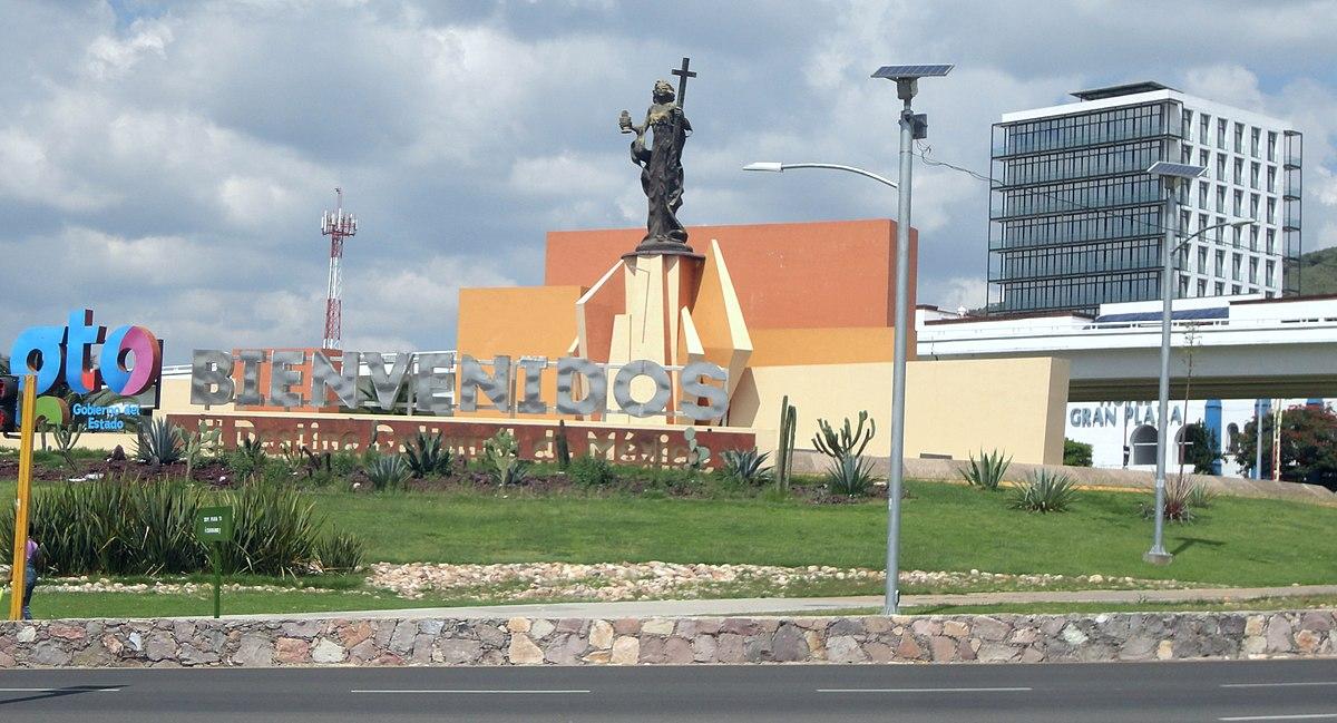 File Glorieta Santa Fe Guanajuato Capital Guanajuato Jpg Wikimedia Commons