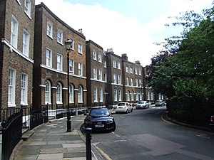 Photograph of Gloucester Circus in Greenwich