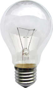 Incandescent light bulb - Wikipedia:Incandescent light bulb,Lighting