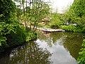 Goldbekkanal Einmündung Stadtparksee 1.JPG