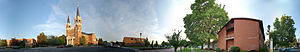 Gonzaga University - 360° panorama on the campus of Gonzaga University