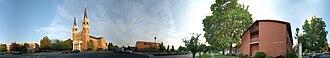 Gonzaga University - 360° panorama on the campus of Gonzaga University