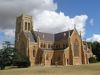 St Saviours Cathedral, Goulburn Church in New South Wales, Australia