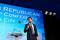 Governor of Louisiana Bobby Jindal at Southern Republican Leadership Conference, Oklahoma City, OK May 2015 by Michael Vadon 123.jpg