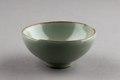 Grön keramikskål från Kina gjord 960-1279 - Hallwylska museet - 95507.tif
