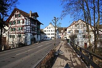 Grüningen - Timber framing houses in the Stedtli (2010)