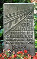 Grabmal Dr.-Ing Karl Schwien 1894 - 1961, städtischer Oberbaurat, Klara, Stadtfriedhof Engesohde, Hannover.jpg
