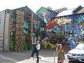 Graffiti Art, Kensington Street, Brighton (5) - geograph.org.uk - 786112.jpg