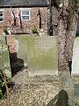 Grave of Benedicta Bretherton & Frances Hawkins St Mary de Crypt Church, Gloucester.JPG