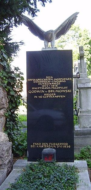 Godwin von Brumowski - The grave of Godwin von Brumowski at Zentralfriedhof in Vienna, Austria.