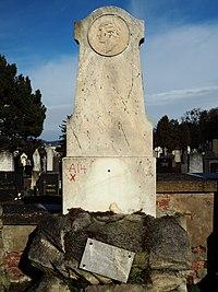 Grave of Johann von Friedel (1816–1898), Vienna, 2018.jpg