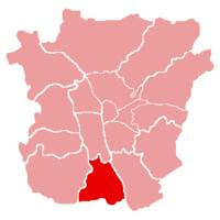 Map of Puntigam (Graz)