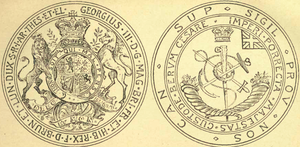 Great Seal of Ontario - Image: Great Seal of Upper Canada