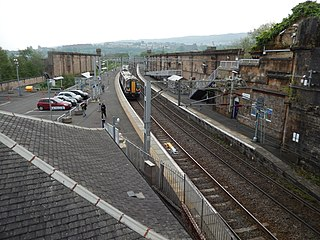 Greenock Central railway station railway station