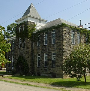 Greensboro, Pennsylvania - Greensboro Public School National Register of Historic Places