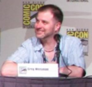 Greg Weisman - Weisman at San Diego Comic-Con International in 2007
