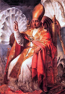 Gregorio XVI ritratto da Francesco Podesti