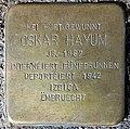 Grevenmacher, Stolperstein 05 Oskar Hayum.jpg