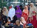 Group Shot outside Petronas Towers - Kuala Lumpur - Malaysia (34819859763).jpg