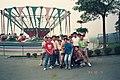 Group photograph of students of Dazhi Junior High School at Janfusun Fancyworld 19941004 01.jpg