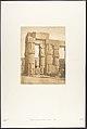 Groupe de colonnes du Palais de Louxor, Thèbes MET DP131864.jpg