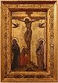 Guariento (attr.), cristo in croce tra la vergine, giovanni e la maddalena, dal convento del corpus domini a ferrara, 1370 ca.jpg