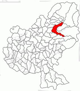Gurghiu, Mureș Commune in Mureș, Romania