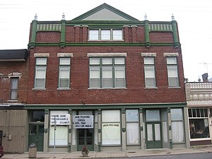 National Register of Historic Places listings in Henry County, Indiana - Image: Guyer Opera House