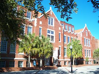Anderson Hall (Gainesville, Florida) - Image: Gville UF Anderson 04