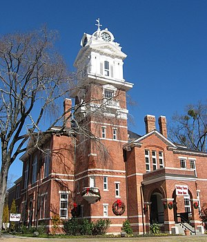 Gwinnett County Historic Courthouse, Lawrencev...