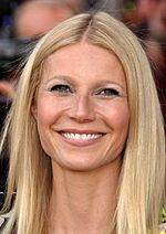 Photo of Gwyneth Paltrow in 2013.
