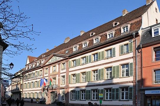 Мэрия - Hôtel de ville - Достопримечательности Кольмара