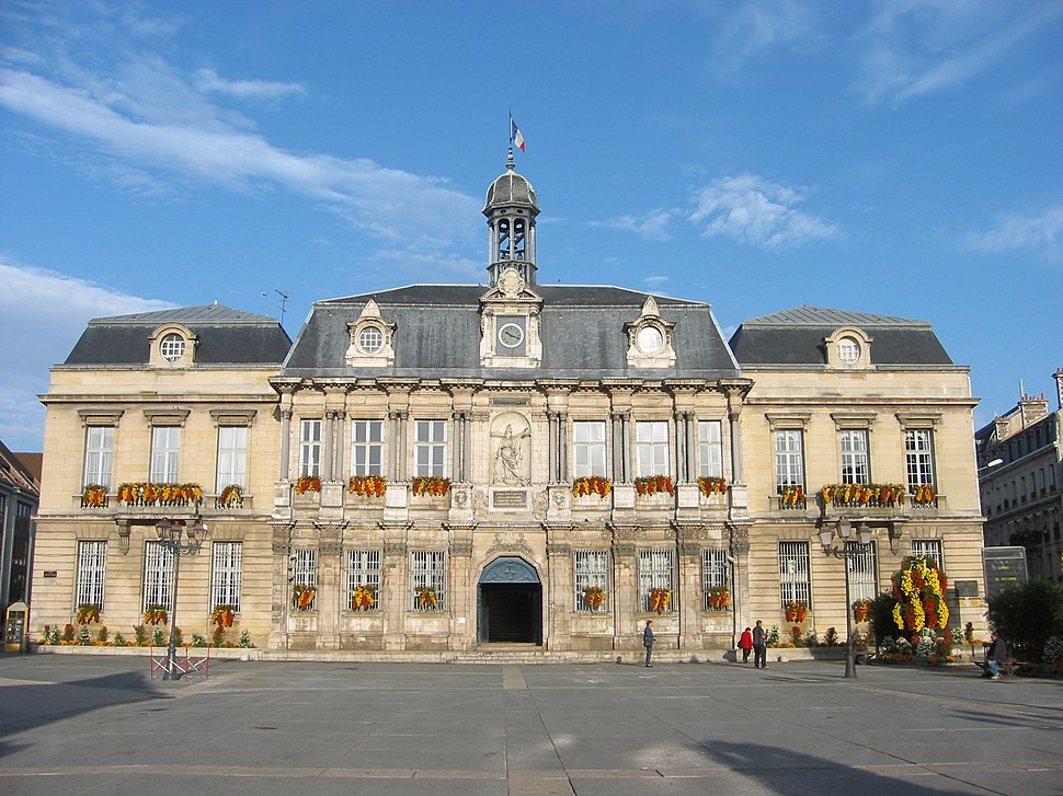 Hôtel de ville de Troyes facade