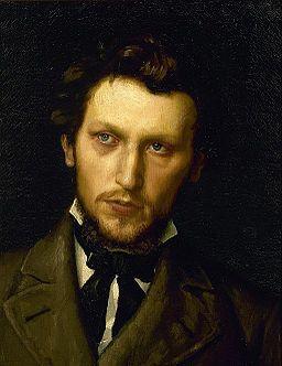 H.A. Brendekilde - Portræt af maleren L.A. Ring