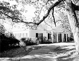 Little White House - Historic American Buildings Survey photograph of the Little White House