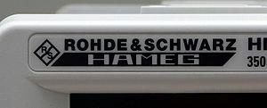 Hameg - HAMEG product logo since 2012