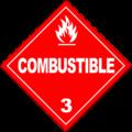 HAZMAT Class 3 Combustible.png