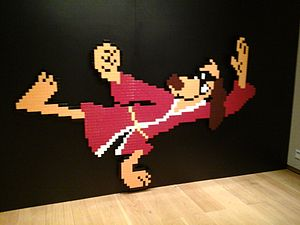 Invader (artist) - Hong Kong Phooey, aka HK 58, was sold for $250,000 in early 2015