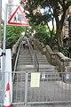 HK 天后 Tin Hau 留仙街 Lau Sin Street 英皇道 King's Road October 2018 IX2 stone stairs 01.jpg