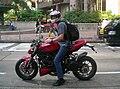 HK Queen's Road Central DUCATI motobike.JPG
