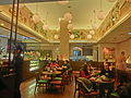 HK Sheung Wan Des Voeux Road Central night Yumemiya Japanese Cafe restaurant interior Dec-2013.JPG