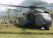 HM-15 delivers aid to Sumatra following the 2004 Tsunami