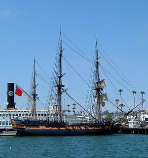 HMS Surprise (replica ship) - HMS Surprise